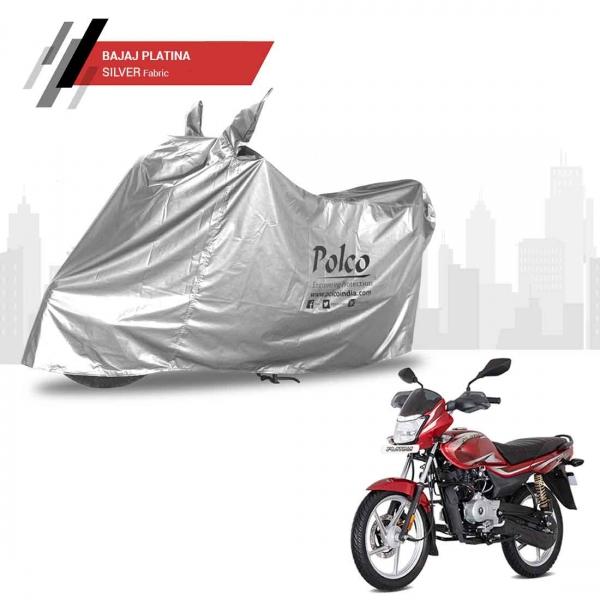 polco-silver-bike-cover-for-bajaj-platina